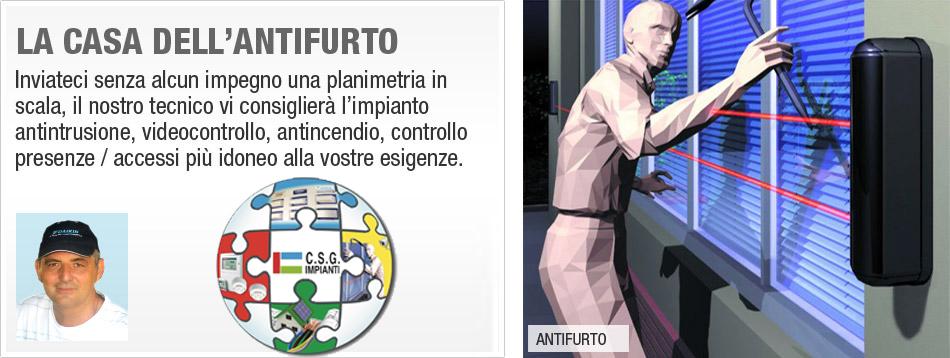 C.S.G. Impianti Antifurto milano